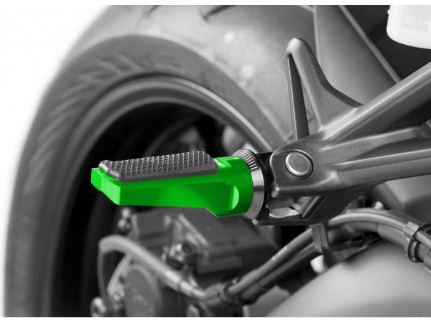 Podnóżki PUIG Sport (z gumą, wymagają adapterów)