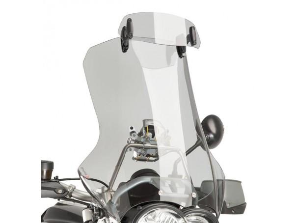 Regulowany deflektor PUIG do szyb i owiewek 23x9 cm (clip-on)