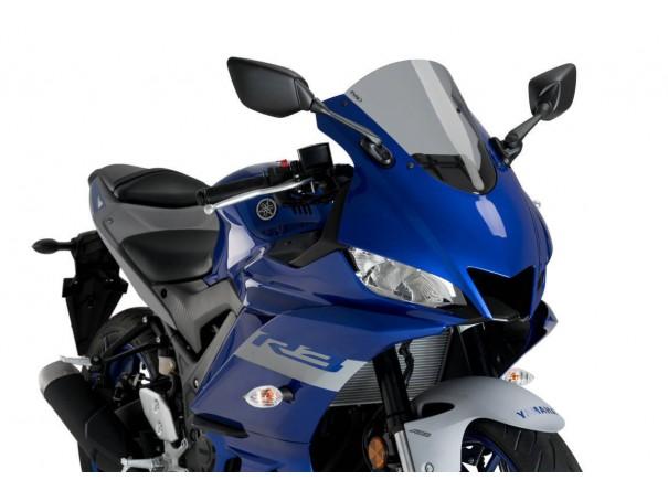 Szyba wyścigowa PUIG do Yamaha R3 19-20