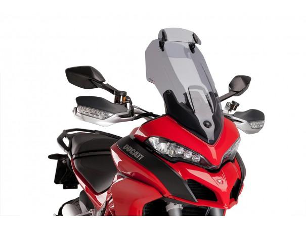 Szyba turystyczna PUIG do Ducati Multistrada 950 / 1200 / 1260 (z deflektorem)