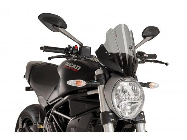 Szyba turystyczna PUIG do Ducati Monster 797 17-20 / 1200 14-21 / 1200R 16-21