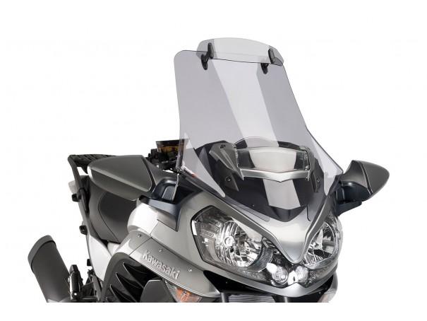 Szyba turystyczna PUIG do Kawasaki GTR1400 15-17 (z deflektorem)