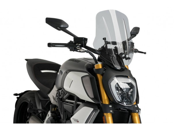 Owiewka PUIG do Ducati Diavel 1260 19-20 (Touring)