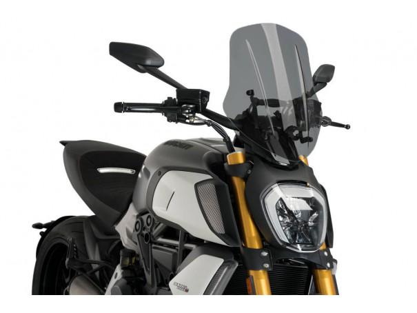 Owiewka PUIG do Ducati Diavel 1260 19-21 (Touring)