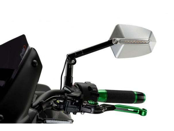 Lusterko PUIG Hi-Tech GTI (lewe, z kierunkowskazem sekwencyjnym)