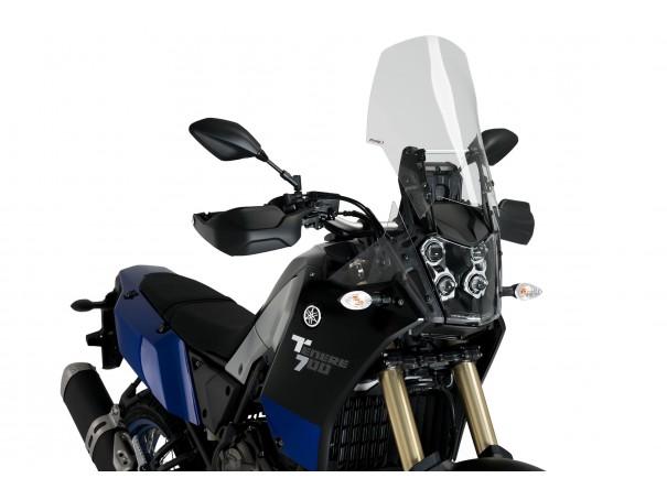 Regulowany wspornik szyby PUIG M.E.M. do Yamaha Tenere 700 19-21