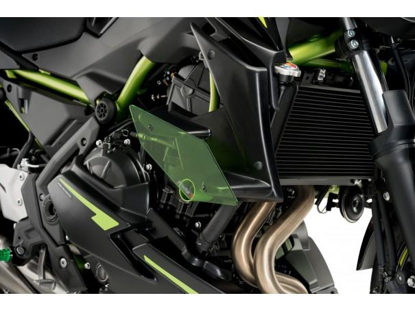 Boczne spoilery dociskowe do Kawasaki Z650 20