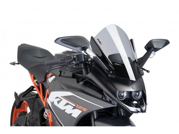 Szyba sportowa PUIG do KTM RC125 / RC390 14-20