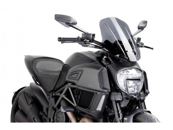 Owiewka PUIG do Ducati Diavel 14-18 (Touring)