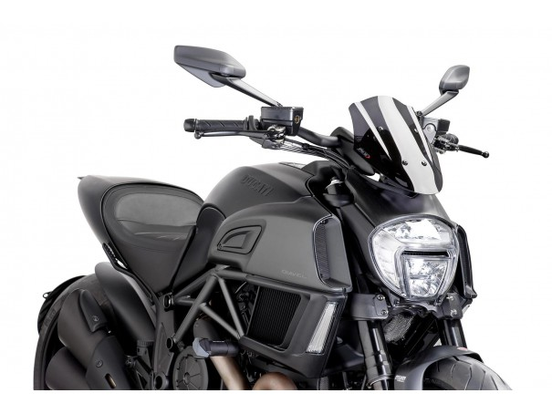 Owiewka PUIG do Ducati Diavel 14-18 (Sport)