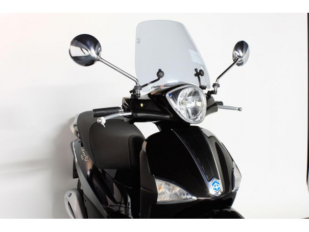 Owiewka PUIG do Piaggio Liberty 50/125/150/200 04-10 (Traffic)
