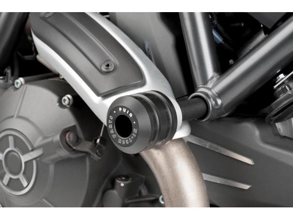 Crash pady PUIG do Ducati Scrambler 15-21 (wersja Vintage)