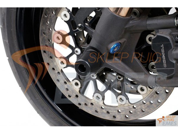 Protektory osi koła PUIG do Suzuki GSX-R1000 07-11 (przód)