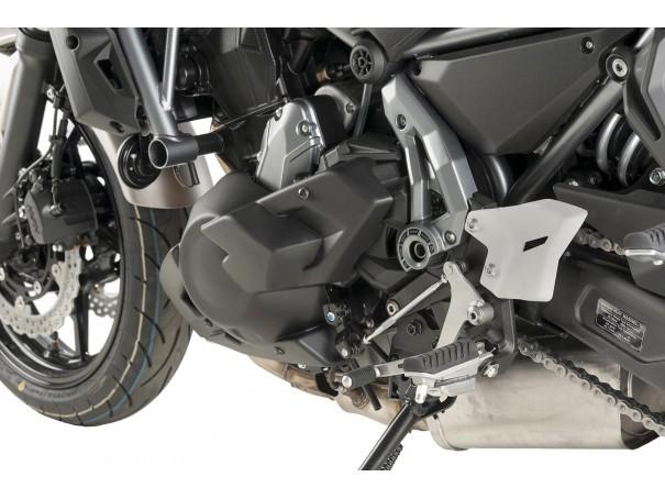 Spoiler silnika PUIG do Kawasaki Z650 17-19