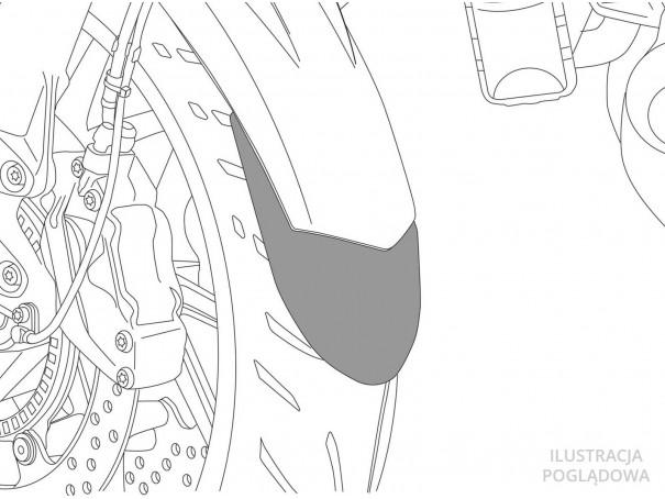 Przedłużenie błotnika do Suzuki GSX-R1000 17-20 (przednie)